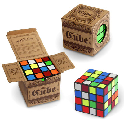 Speed Cube Kids Toys 4x4x4 Smooth Brain Teaser Puzzle Turns Quicker Smart Magic