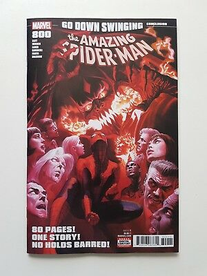Amazing Spider-Man #800 Alex Ross cover! 1st Red Goblin II