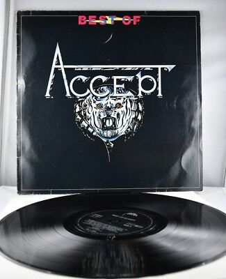 Accept Best of Germany LP ois Brain/Metronome