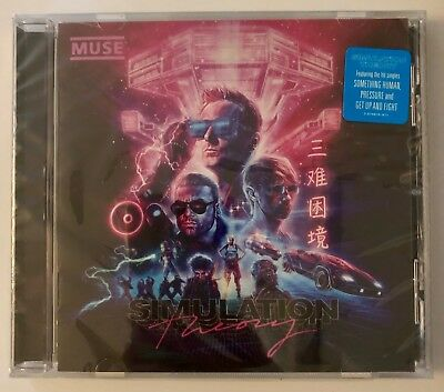 Muse - Simulation Theory CD 2018 - BRAND NEW - Still wrapped