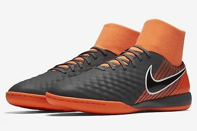 867e2e9fc MENS Nike ObraX Magista 2 Academy DF IC Dark Grey Black Total Orange AH7309  080 Sporting Goods