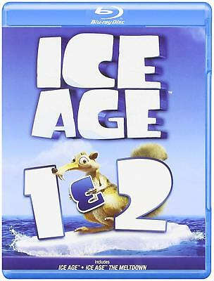 Ice Age 1 & 2 Blu-ray Disc Brand New, Factory Sealed & Free Fast Shipping!