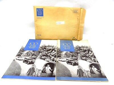 1952 Studebaker 100 Years on the Road Lot of 2 With Original Mailing Envelope!