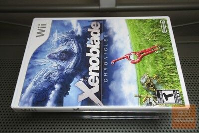 Xenoblade Chronicles USA RELEASE (Nintendo Wii 2012) FACTORY SEALED! - EX!