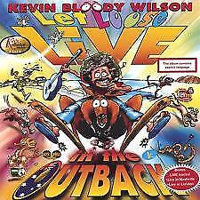 Kevin Bloody Wilson - Let Loose Live In The Outback-Australian Comedy-New Sealed