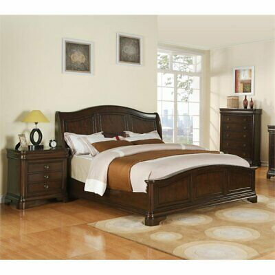 Picket House Furnishings Conley 3 Piece Queen Bedroom Set in Cherry