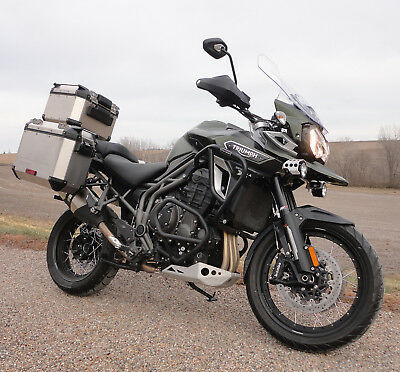 2017 Triumph Explorer XCa  2017 Triumph Tiger Explorer XCa 1215 - Adventure Touring at its finest!