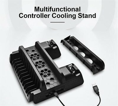 PS4/ Slim / Pro Multi-Function Dock Vertical Cooling Stand Controller Charger