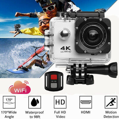 SJ9000 4K 2.0''  Action Sports Camera Waterproof WiFi Cam Action Video Camcorder