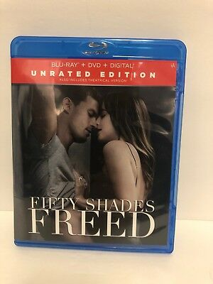 Fifty Shades Freed Blu Ray EXCELLENT CONDITION FAST SHIPPING