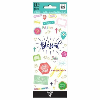 Blessed Faith - Mambi Happy Planner Create 365 Sticker Book 354 Icon Stickers