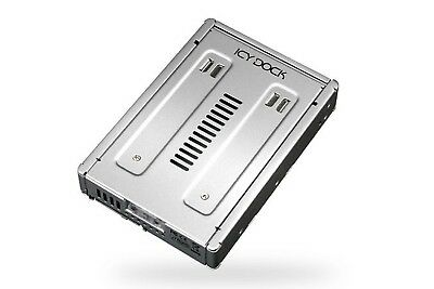 "Icydock MB982IP-1S-1 EZConvert Pro Enterprise Full Metal 2.5""to 3.5"" SAS SSD/HDD"