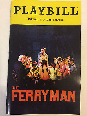 The Ferryman Playbill Theater Book New York City Nyc Broadway October 2018