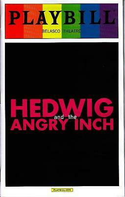 HEDWIG AND THE ANGRY INCH PRIDE PLAYBILL BOOK NY BROADWAY JUNE 2015 Darren Criss