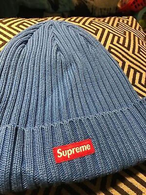 b1ca8741c9a SUPREME OVERDYED RIBBED beanie (Blue) - £36.00