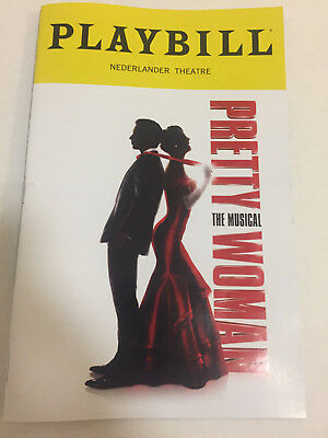 PRETTY WOMAN PLAYBILL BOOK NYC BROADWAY OCTOBER 2018 Karl Orfeh Samantha Barks