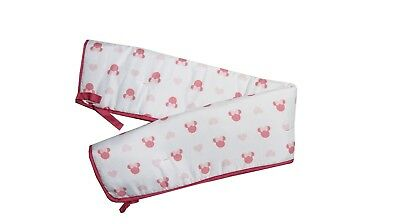 Minnie Mouse Baby Crib Rail Guard For US Standard Cribs - See Details
