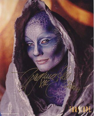 VIRGINIA HEY  ZHAAN  FARSCAPE hand signed
