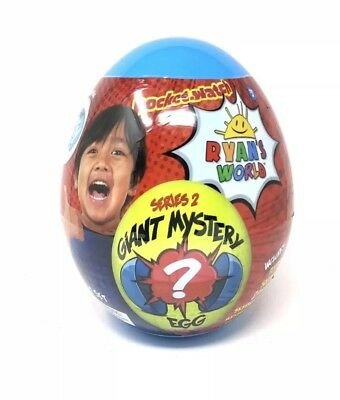 Ryan's World Blue Giant Mystery Egg Toy Walmart Exclusive Rare Hot Surprise