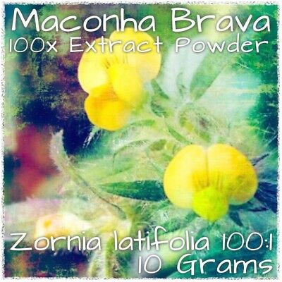 Maconha Brava | (Zornia Latifolia) 100x Extract Powder [10 Grams]