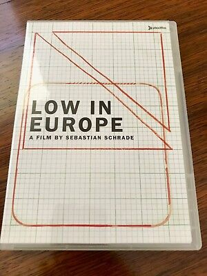 Low In Europe DVD - music documentary - very good condition!