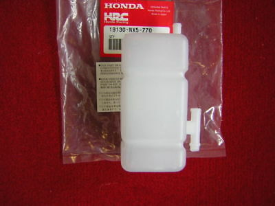 HRC Honda Racing Corporation Overflow Expansion Square Catch Tank Bottle - NEW