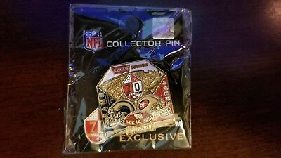 Los Angeles Rams vs. San Francisco 49ers Game Day Pin 9-12-16 Battle in S.F.