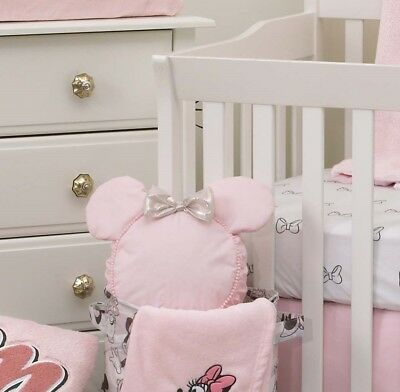 Disney Minnie Mouse Crib Decorative Pillow only - Girls
