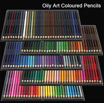160PCS Art Colored Pencils Set Artist Painting for Adult Kids Coloring Book New