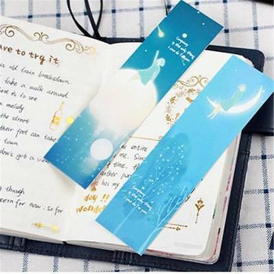 30pcs Star Bookmark Gift Book Marks Stationery Cute Marque Page Message Cards