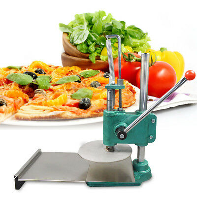 9.5in Heavy Duty Pizza Dough Pastry Manual Press Machine Stainless Steel USA