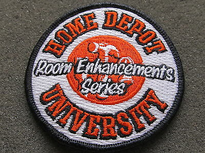 home depot collectibles HD university room enhancements patch