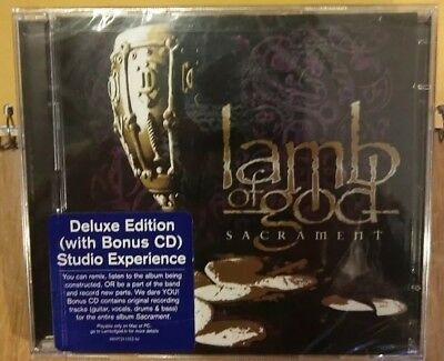 "LAMB OF GOD - Sacrament - CD - Deluxe Producer Edition - Studio Experience ""NEW"""