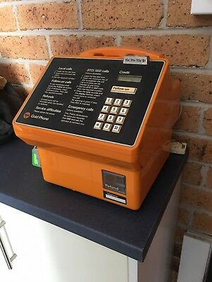 Gold Payphone  For Man Caves ,Games Rooms, Collector. In Good Working Order