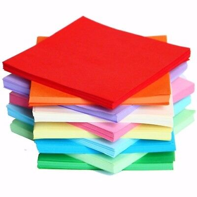 10/40 Pack A4 Size Coloured Craft Paper DIY Cardboard Assorted Art Premium