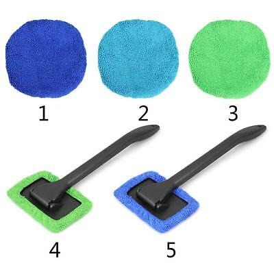Portable Microfiber Long Handle Car Window Cleaning Brush Windshield Cleaner