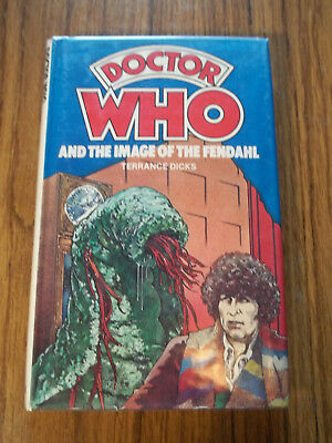 4th Dr Doctor Who and The Image of The Fendahl Leela WH Allen HC ExLibrary Rare