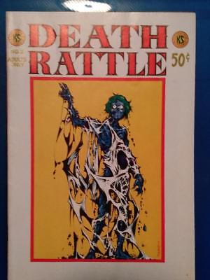 """Classic 70's Underground Comic """"death Rattle"""", Number Two, Great Stuff!"""