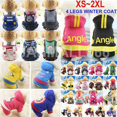 Winter Adidog Pets Dog Clothes Warm Hoodie Coat Jacket Clothing For Dogs Cat New