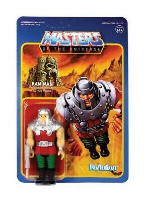 Masters of the Universe ReAction Action Figure Ram Man