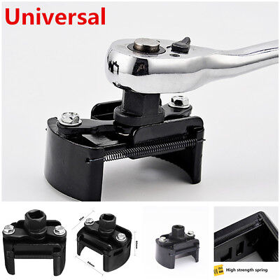 """Adjustable Car Oil Fuel Filter Wrench Cup 1/2"""" Housing Tool Remover Hand Tool"""