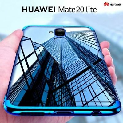 For Huawei Mate 20 Pro Lite Protective Case Soft Clear Plating TPU Cover