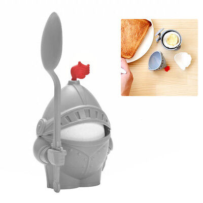 Soldier Shape Egg Holder Kitchen Breakfast Boiled Eggs Cup Cooking Tool Admiring