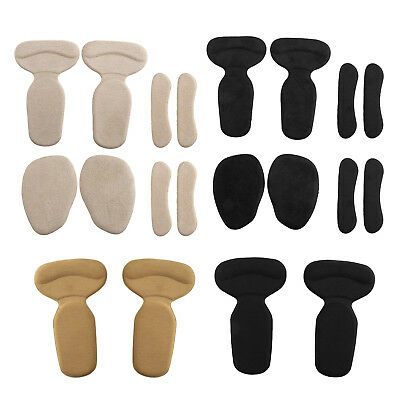 4/8 Gel High Heel Grip Back Liner Shoe Insole Pad Foot Care Protector Cushion