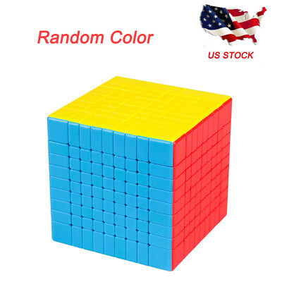 9x9x9 Professional Speed Magic Cube Twist Puzzle Funny Toys Multi-Color for Kids