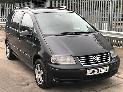 2008 Volkswagen Sharan 1.9 TDI auto STARTS+DRIVES MOT SPARES OR REPAIRS