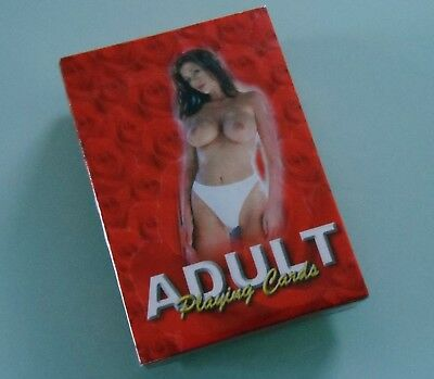 Risque Glamour Playing Cards ~ Still Sealed ~ New Old Stock ~54 Different Photos