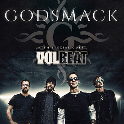 Godsmack and Volbeat 2019 North American TOUR - PRESALE CODE!! USA and CANADA!