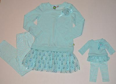 """NWT Girls Dollie & Me & Matching Doll outfit fits 18"""" American Girl Size 8"""