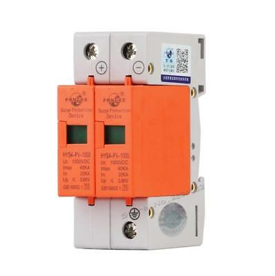 SPD 2P 20KA~40KA AC Low voltage Arrester House Surge arrester protection Protect